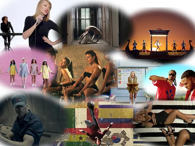 Топ-10 самых популярных мировых музыкальных клипов 2014 года