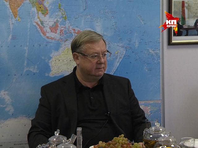 Сергей СТЕПАШИН «Комсомольской правде»: Проблема - не в рубле, а в том, как заместить импорт