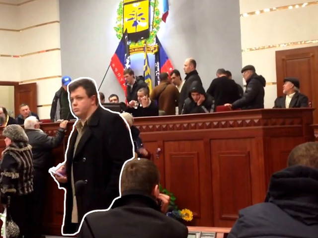 Командир батальона «Донбасс» был замечен среди тех, кто объявлял ДНР