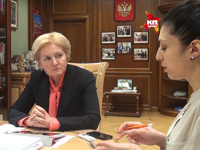 Вице-премьер Ольга Голодец: Несмотря на кризис, пенсии в 2015 году повысим на уровень инфляции