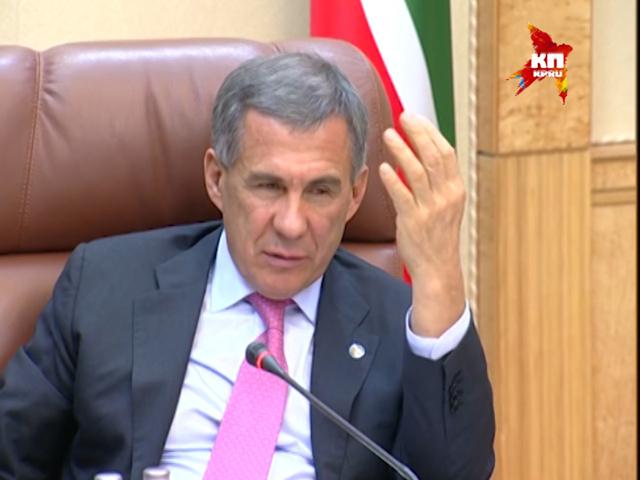 Рустам Минниханов провел предновогоднюю встречу с журналистами. Часть 2