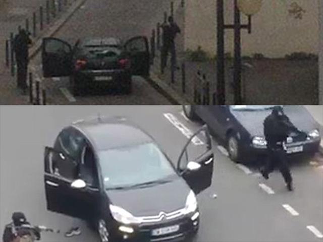 В офисе французского журнала произошла  стрельба: 12 человек погибли