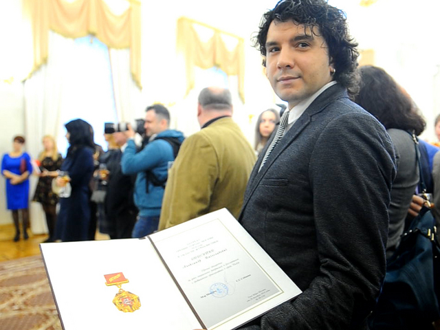 Корреспондент «Комсомолки» Александр РОГОЗА награждён премией города Москвы в области журналистики