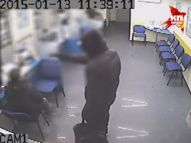 Вооруженный мужчина попытался ограбить банк в центре Нижнего