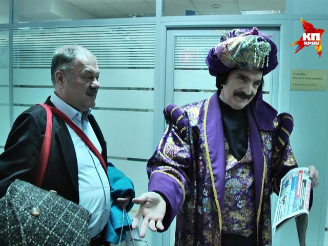 """Амаяк Акопян приехал в гости к """"Комсомольской правде"""""""