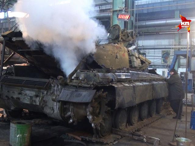 Украинская армия - основной поставщик запчастей для бронетехники ополченцев