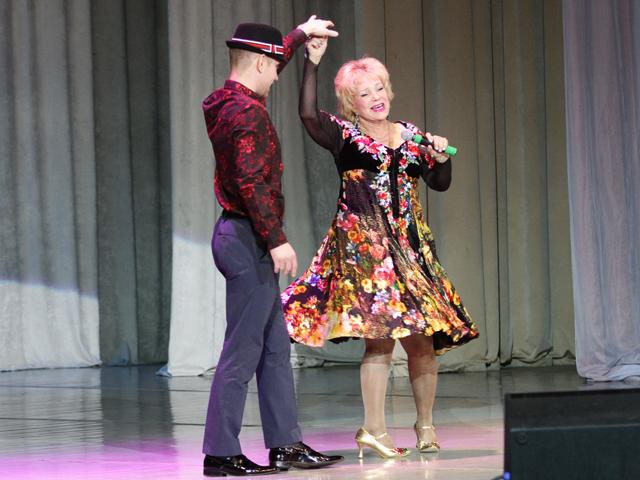 Екатерина Шаврина выступила в Минске с новой концертной программой «Моя любовь не тает»