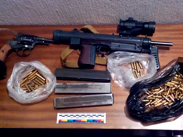 В Москве у торговца марихуаной нашли арсенал редкого оружия