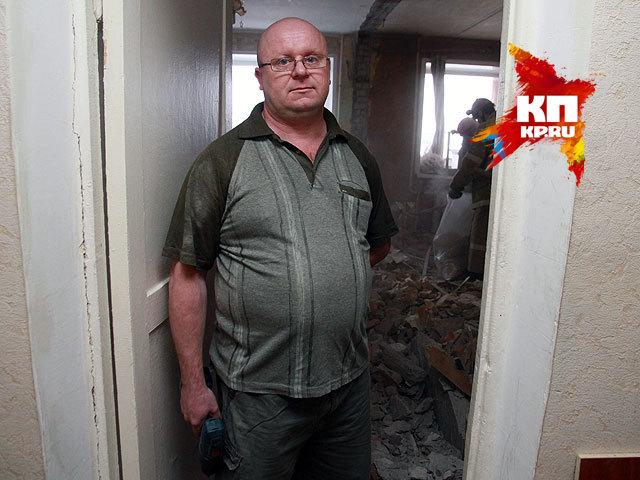 В барнаульской пятиэтажке взорвался газ. Комментарий хозяина пострадавшей квартиры №45 Алексея Воробьева (12 февраля 2015 года)