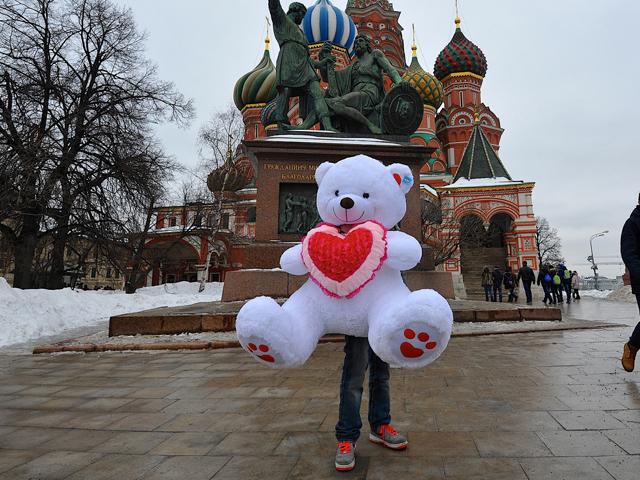 Москва отметила Валентинов день