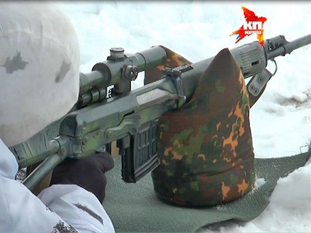 Как проходят учения снайперов самарской 15-й миротворческой бригады