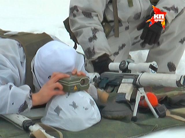 Самарские снайперы тестируют новый лазерный прибор разведчика 3-го поколения