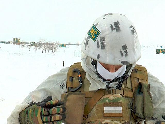 Боец 15-й самарской миротворческой бригады рассказывает о новой экипировке снайперов