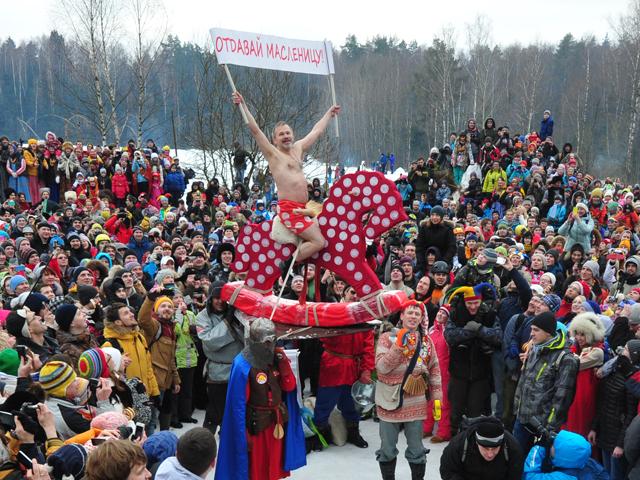 В Одинцовском районе Подмосковья весело отметили «Бакшевскую масляницу»