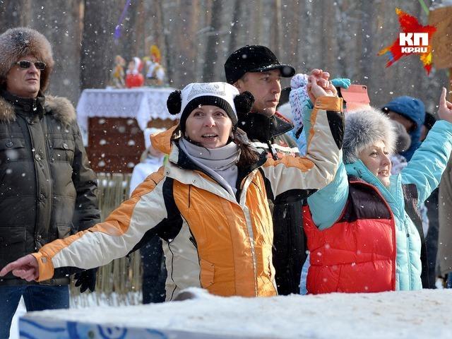 Кузбассовцы отпраздновали Масленицу в «Томской писанице»