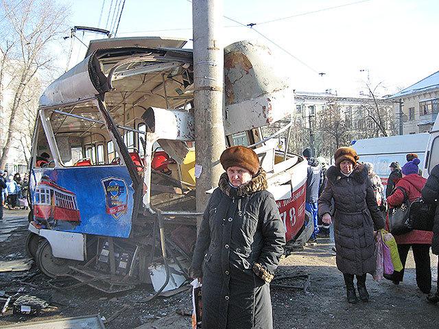 23 февраля в Самаре трамвай 24-го маршрута сошел с рельсов. Есть жертвы