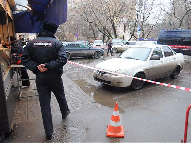 В центре Москвы нашли машину убийц Немцова