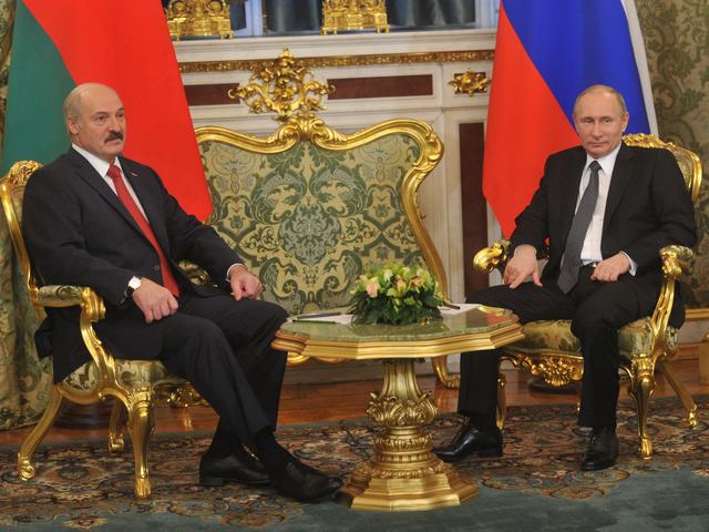 Владимир Путин и Александр Лукашенко встретились на Госсовете Союзного государства
