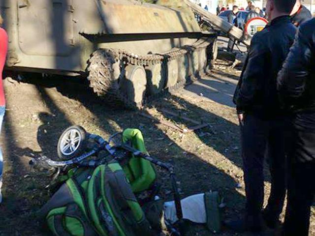 В Константиновке БМП украинской армии насмерть сбила 8-летнего ребенка