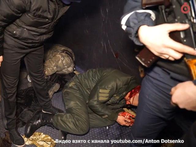 Одесса, столкновения между «Правым сектором» и администрацией казино на Дерибасовской
