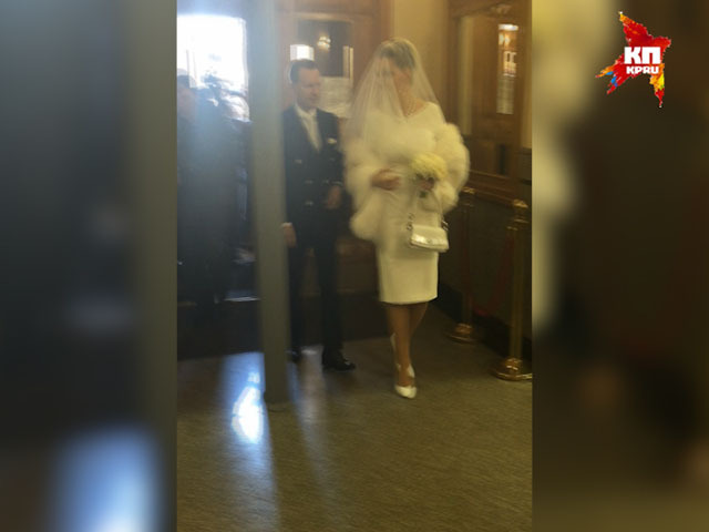 Оперная дива Мария Максакова расписалась в ЗАГСе с депутатом Денисом Вороненковым