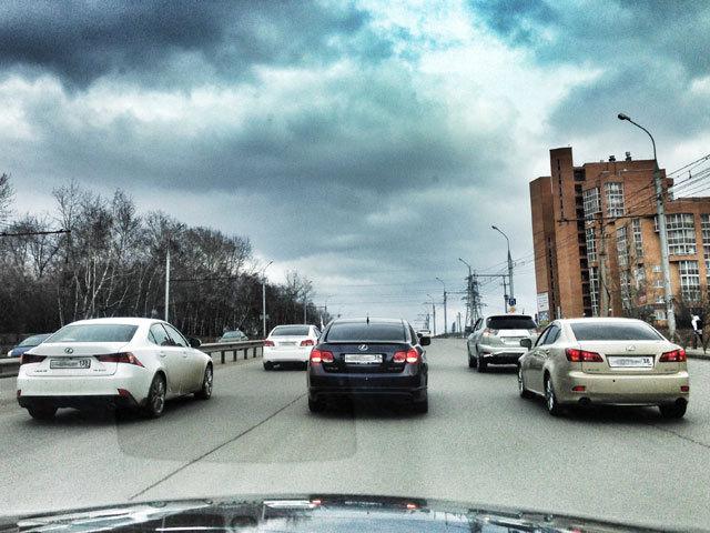 Первая встреча владельцев «Lexus» состоялась в Иркутске