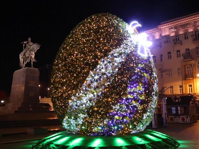 Москву украсят светящимися пасхальными яйцами