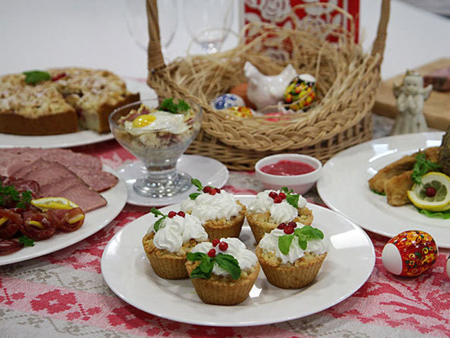 Как приготовить вкусные блюда для пасхального стола