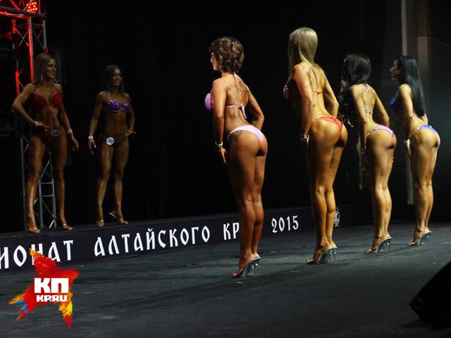 Алтайские краевые соревнования по бодифитнесу и фитнес-бикини (апрель 2015 года)