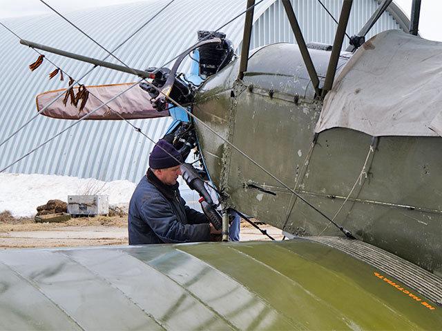 Самарцы восстановили самолет ПО 2 времен Великой Отечественной войны.