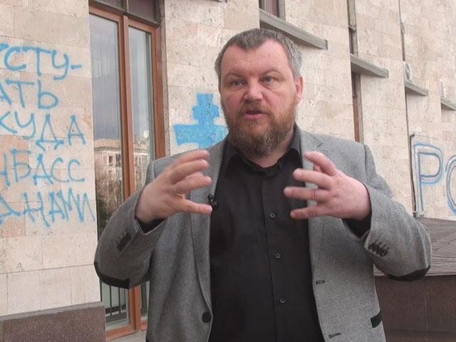 """Андрей Пургин: """"Нацгвардия берет взятки за провоз продуктов в ДНР"""""""
