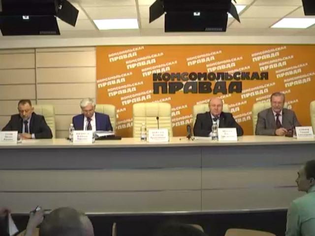 Пресс-конференция - история горьковских заводов во время ВОВ