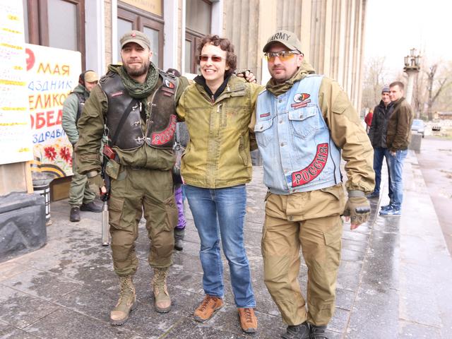 [Эксклюзив КП] Юлия Чичерина в Луганске о войне: «Как будто от тебя откусывают, калечат...»