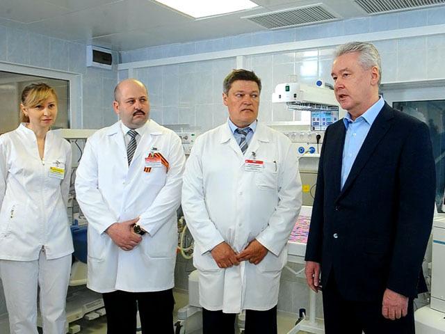 Сергей Собянин осмотрел роддом 36-й больницы