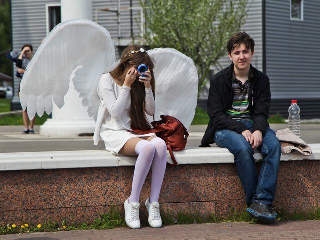 Шествие фанатов японской анимации в Воронеже
