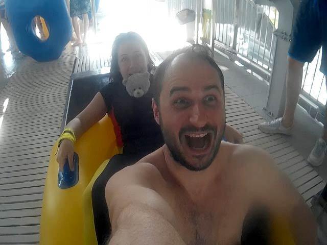 Сумасшедшие выходные в аквапарке