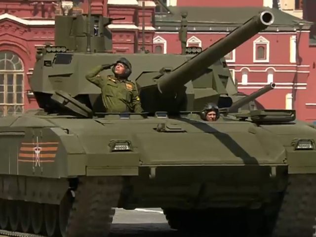 Самые яркие моменты парада 70-летия Победы на Красной площади