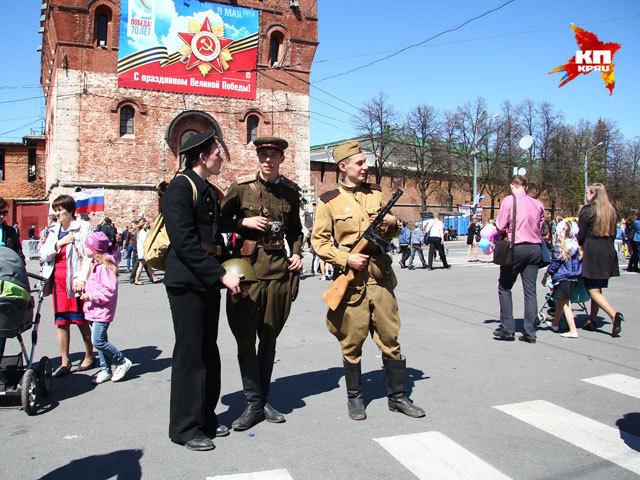Как в Нижнем Новгороде отмечали 70-летие Победы