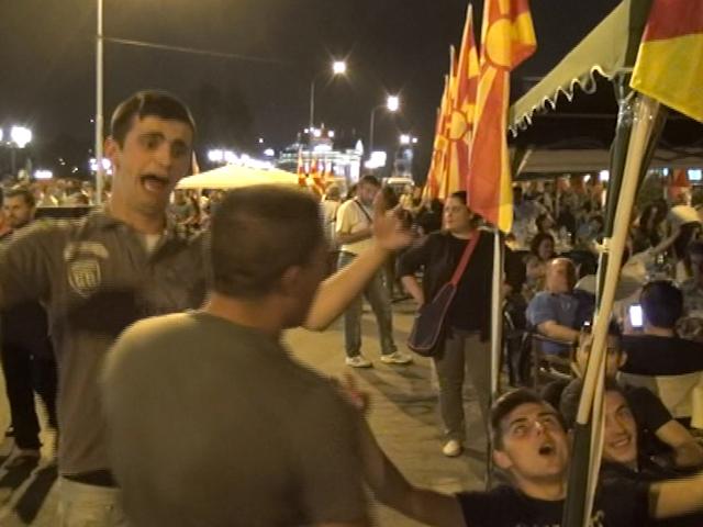Цветная революция в Македонии