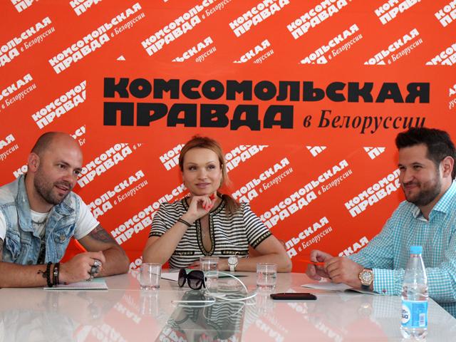 Как белорусские звезды писали школьный диктант