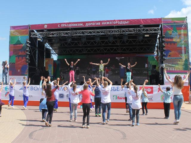 Празднование Дня города и Дня России в Нижнем Новгороде