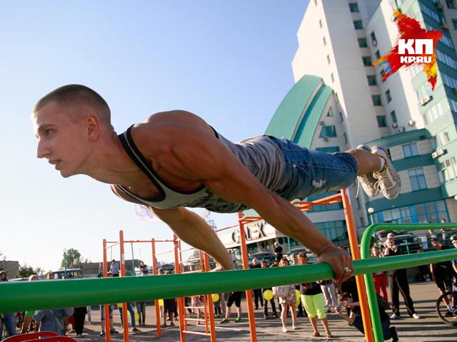 В Барнауле прошел третий фестиваль экстремальных видов спорта