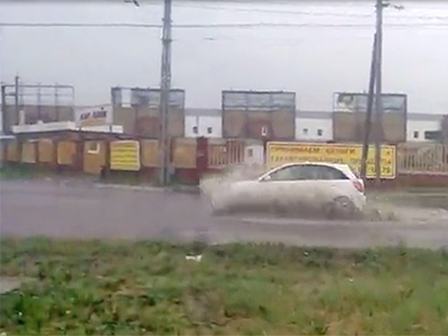 Тольятти затопило