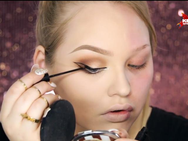 Девушка показала, какие чудеса творит макияж