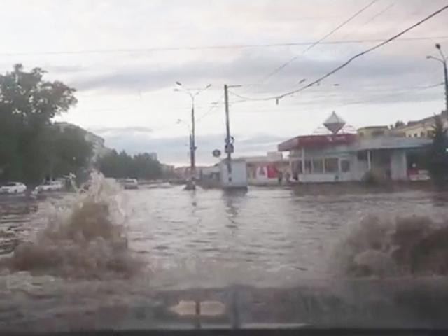 Последствия тропического ливня в Нижнем Новгороде