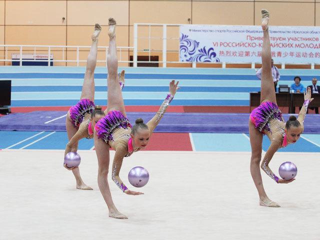Российско-Китайские игры в Иркутске: победное выступление нашей сборной по художественной гимнастике