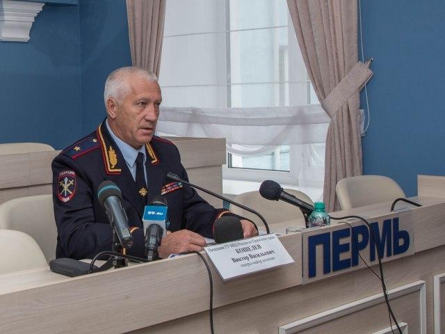 Пресс-конференция главного полицейского Пермского края Виктора Кошелева