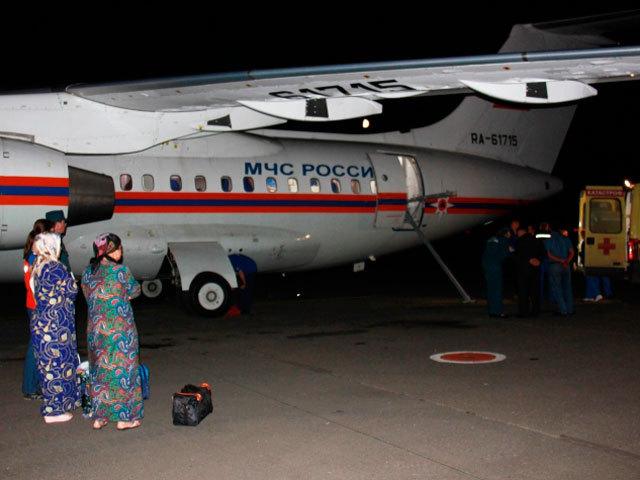 Спецборт МЧС доставил из Грозного в Нижний девочку с ожогами