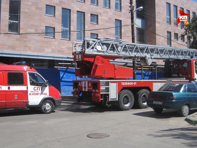 Пациент пытался выброситься из окна больницы №5 в Нижнем Новгороде