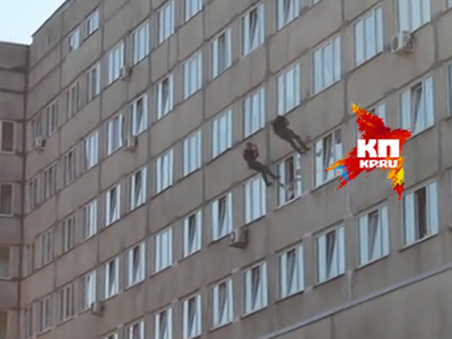 Видео спецоперации по спасению депутата-суицидника